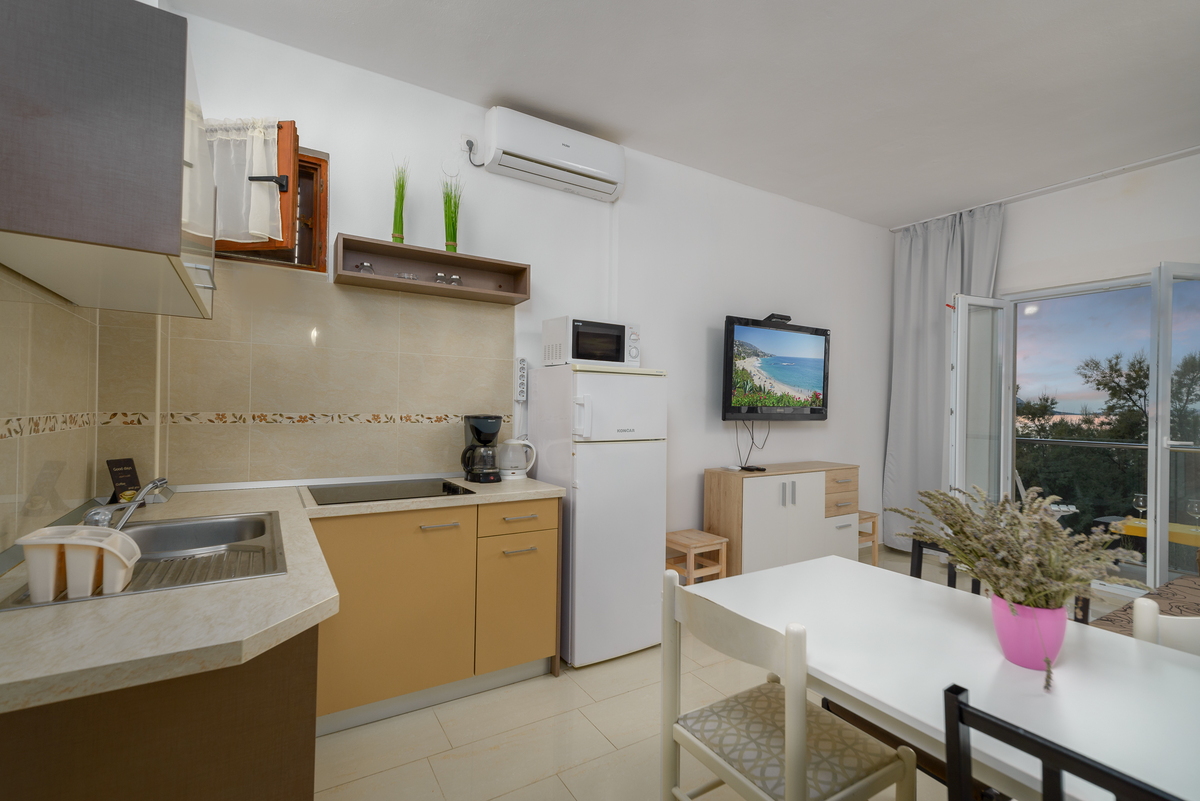 Apartment A3 kitchen and livingroom